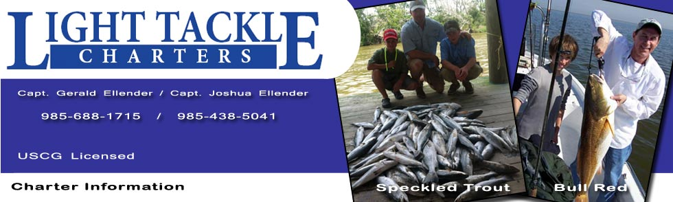 Houma Louisiana Fishing Charters