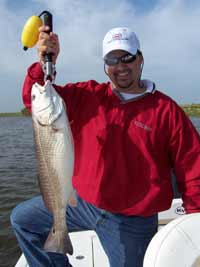Fishing Redfish in Louisiana